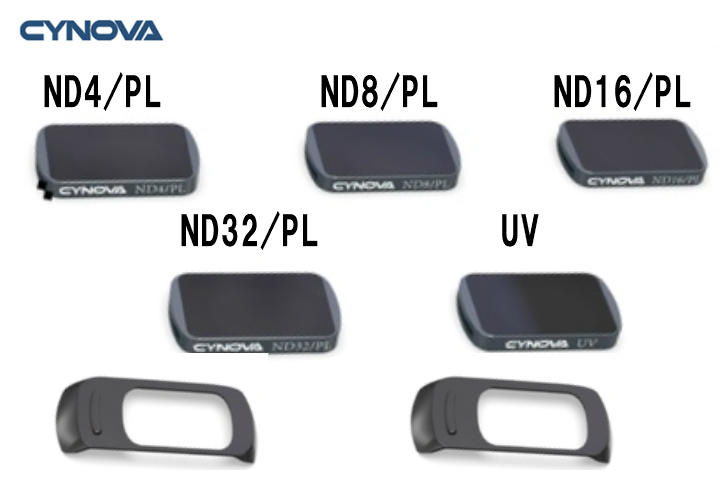 CYNOVA Mavic MINI用 ND PL UVフィルター(ND4 / PL ND8 / PL ND16 / PL ND32 / PL UV)