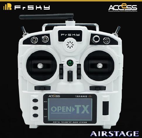 FrSky X9 Lite 送信機 【ホワイト 】(モード1){オリジナルマニュアル+保証書付}
